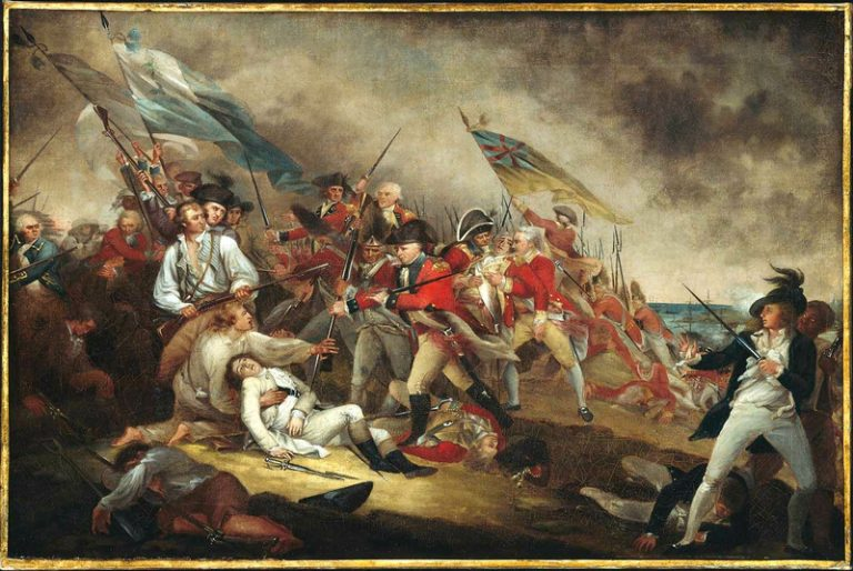 Death of General Warren at Bunker Hill